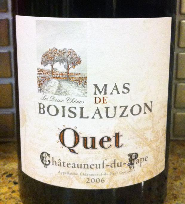 2006 Mas De Bouilazon Quet
