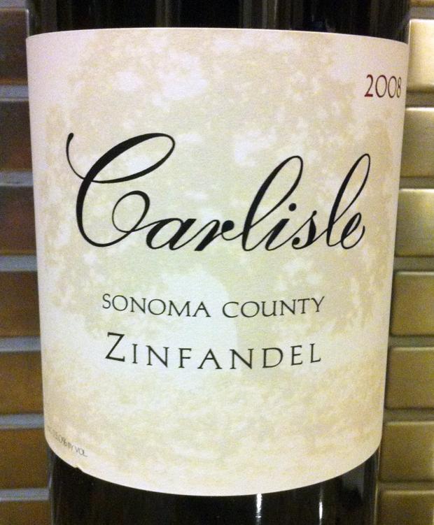 2008 Carlisle Sonoma County Zinfandel