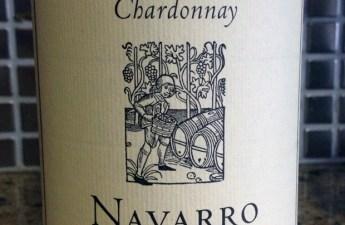 2011 Navarro Mendocino Chardonnay