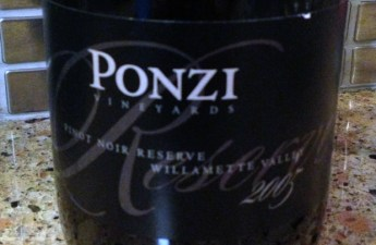 2005 Ponzi Reserve Pinot Noir