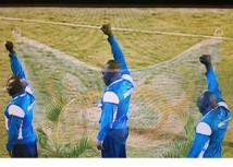 Capture d'écran de la retransmission en direct sur Réunion 1ère