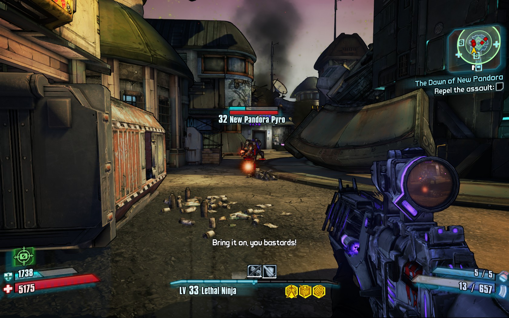 Recenze: Borderlands 2: Commander Lilith & the Fight for Sanctuary