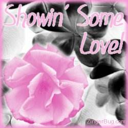 Another ShowinLove image: (showin_love_pink_rose) for MySpace from ZingerBug.com