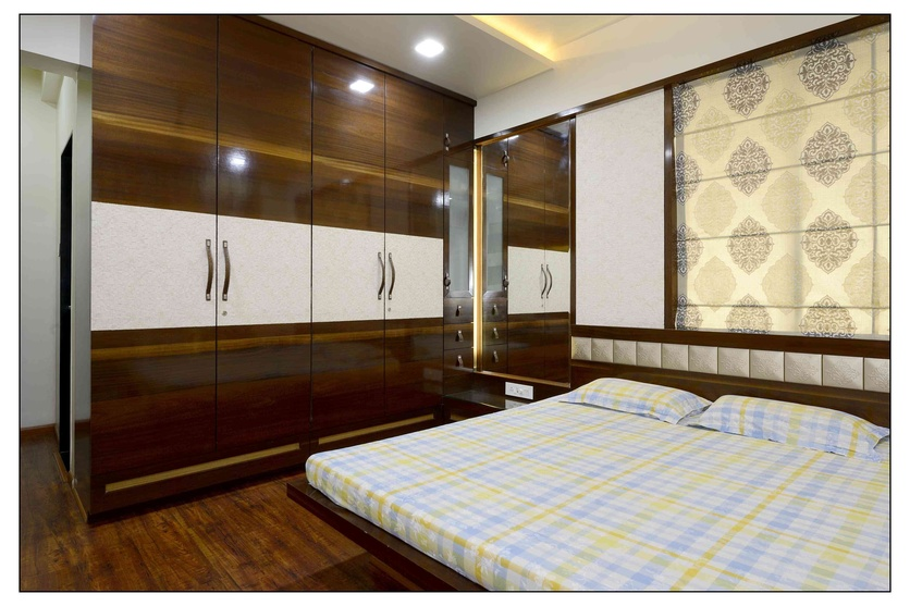 Indian Master Bedroom Wardrobe Designs