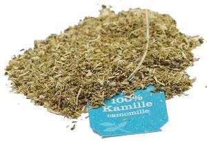 losse thee kamillethee-theezakje