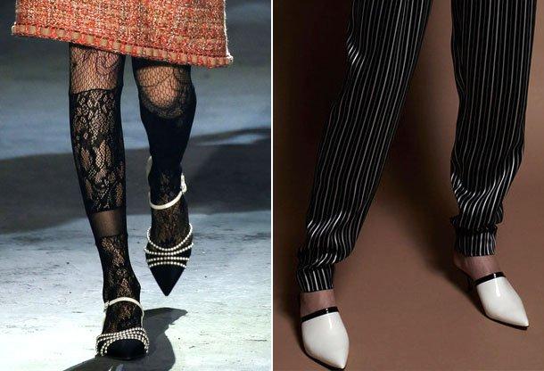 Fashionable-shape-sock-2017 Madingos moteriškos avalynės tendencijos 2017