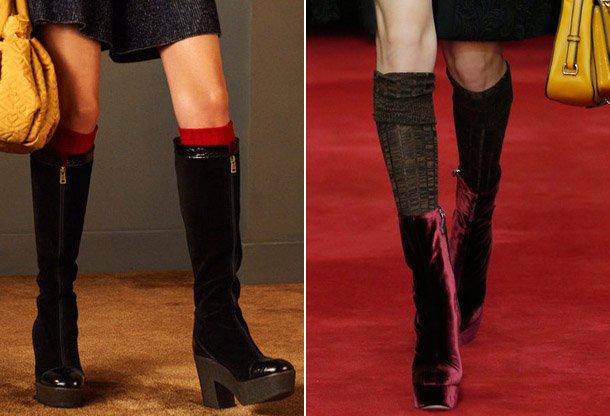 Shoes-trends-2017-velvet Madingos moteriškos avalynės tendencijos 2017