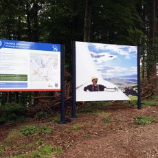 Windenergie Wanderweg Sontra – Wegbeschilderung