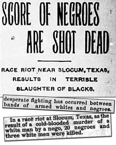 Genocide in East Texas: A History of the Slocum Massacre - Zinn Education Project