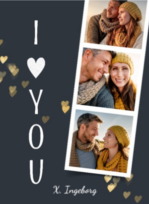 Ik hou van jou kaart