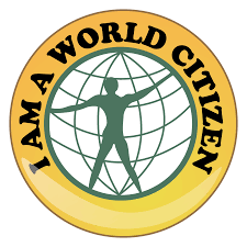 I am a world citizen logo