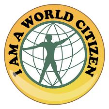 I am a world citizen logo