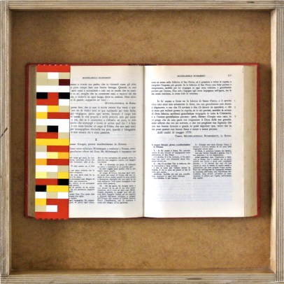 databook, libro e lego 40x40cm