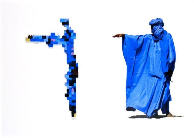 Desert joke, 50x70cm, stampa digitale e lego, 2015