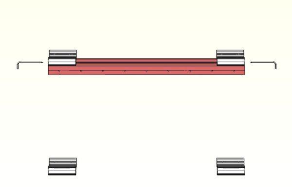 Zinterlock kit 900HS
