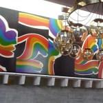 Mural Panels installed using Zinterlock