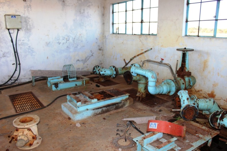Gutu Water Supply Station prior to commencement of expansion works (13)
