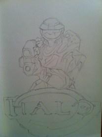 Halo Sketch Step 3