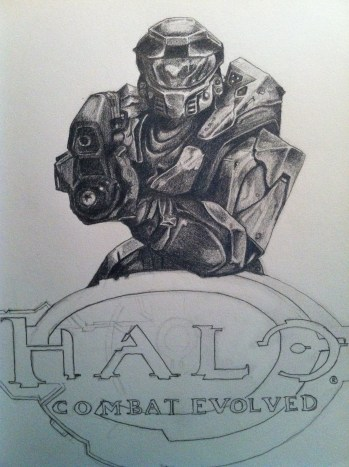 Halo Sketch Step 6