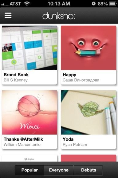 Dunkshot App