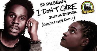 "El remix de ""I Don't Care"" por Koffee & Chronixx"