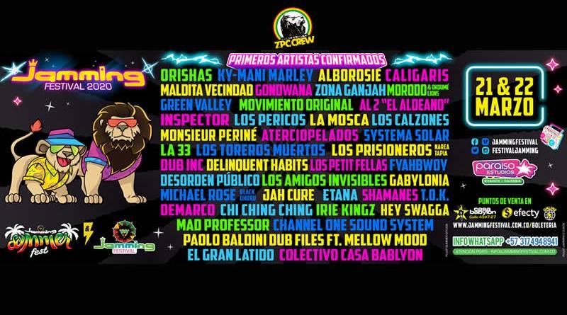 Jamming Festival 2020 :  un oasis de la música afro caribeña en Latinoamérica