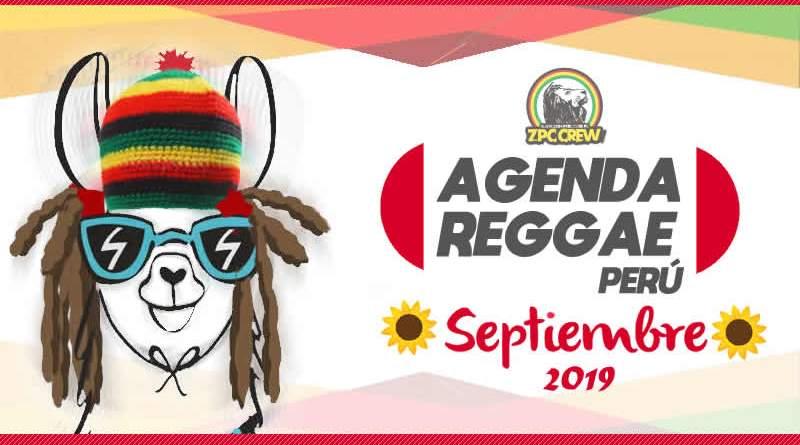CONCIERTOS REGGAE EN PERÚ – SEPTIEMBRE 2019