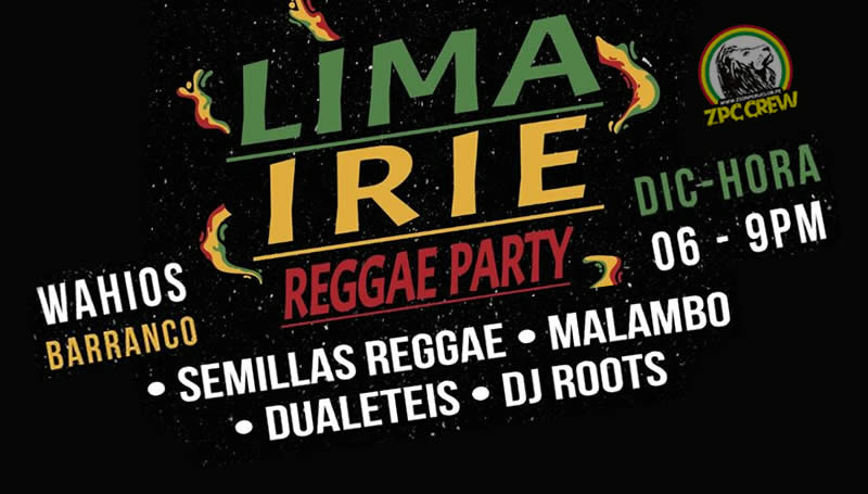 LIMA IRIE  - REGGAE PARTY