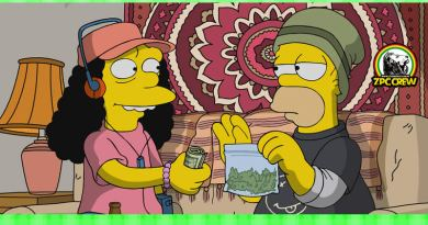 LOS SIMPSON: Legalizan la marihuana en Springfield