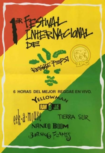 1 FESTIVAL INTERNACIONAL DE REGGAE EN LIMA