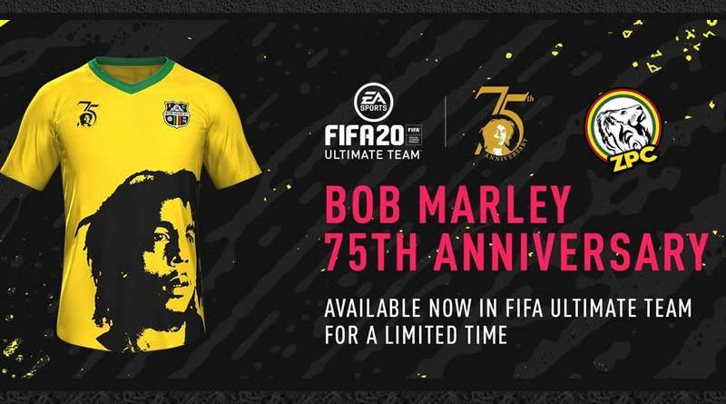 BOB MARLEY - FIFA 2020 INDUMENTARIA