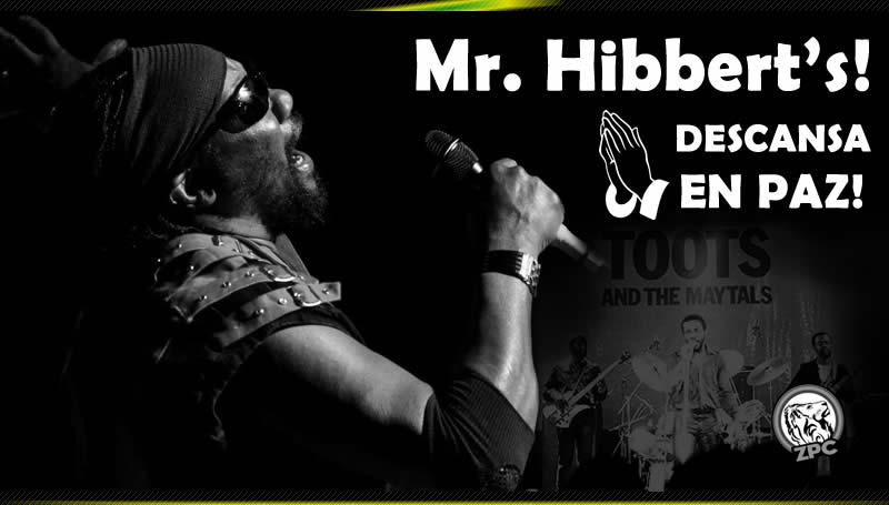 Muere Toots Hibbert