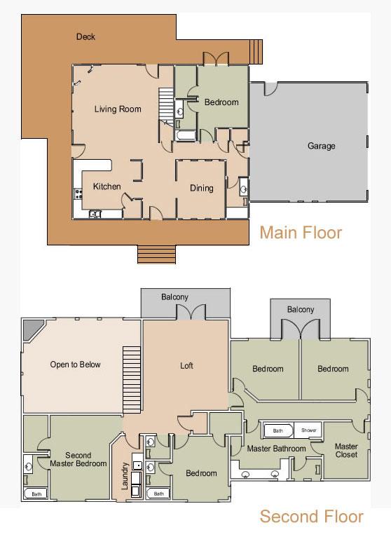 Bonanza Ranch House Floor Plan