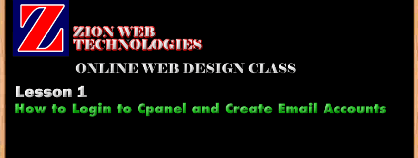Zion Web Design Training Online