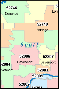 ia zip codes by city