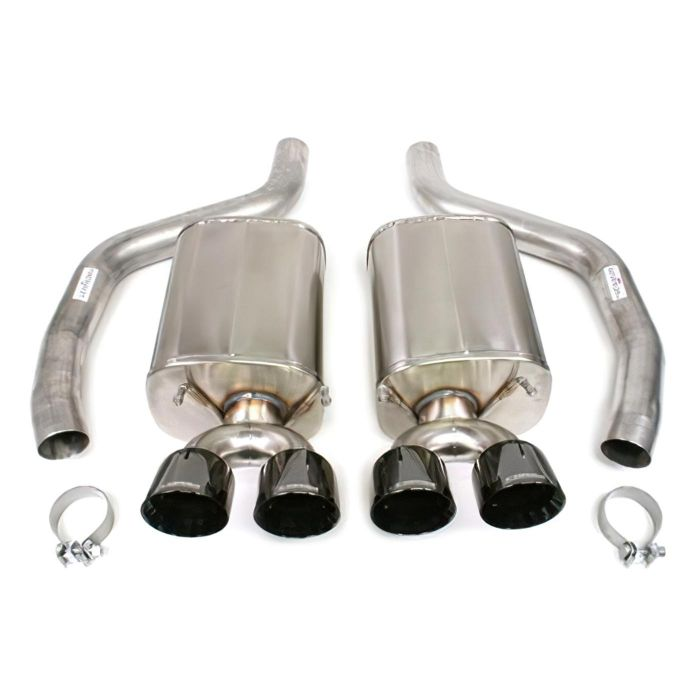 06 13 ls7 ls9 corsa sport exhaust system black pvd 4in pro series tips