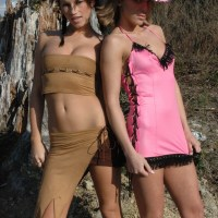 Karen Loves Kate Cowboys And Indians Zip Set