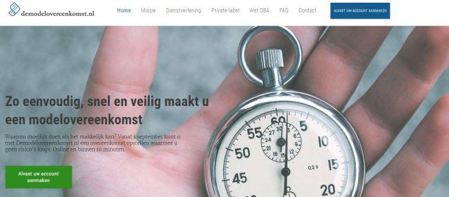 demodelovereenkomst.nl
