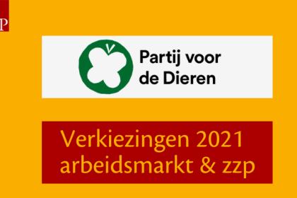 Partij voor de Dieren Verkiezingen 2021