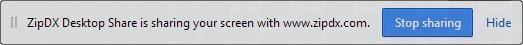 Chrome-Screen-Share-Status-Strip