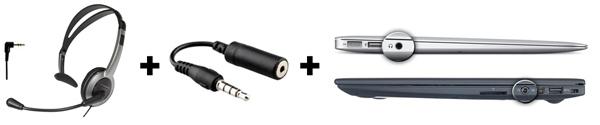Cordless Headset - adapter - ultrabook