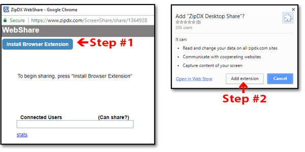 installing browser extension automatically