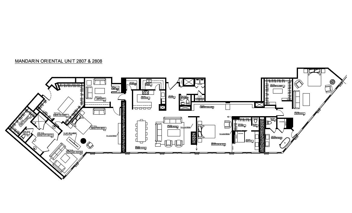 Mandarin Oriental Unit 2807 & 2808