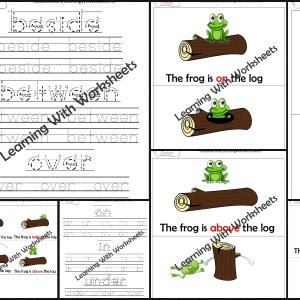 Prepositions Words Bundle