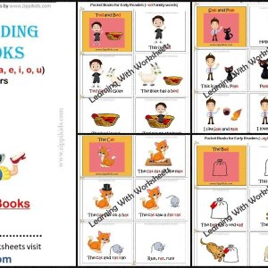 Reading Phonics Books for beginners