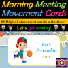 Morning Meeting Movement Cards