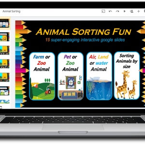 Animal Sorting Google Slide