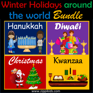Winter Holidays Around the world bundle