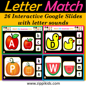 Digital Letter Match