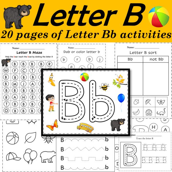 Letter of the week B